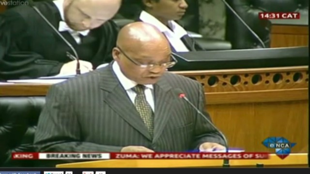 Zuma: Mandela responding to treatment