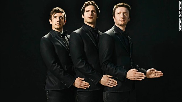 Jorma Taccone, Andy Samberg, and Akiva Schaffer make up the group The Lonely Island.