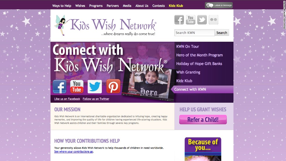 "<a href=""http://www.tampabay.com/americas-worst-charities/#kids-wish-network-inc"" target=""_blank""><strong>No. 1: Kids Wish Network:</a></strong> In the past decade alone, Kids Wish has channeled nearly $110 million donated for sick children to its corporate fund-raisers. That makes it the worst charity in the nation, according to a Times/CIR review of charities that have steered the most money to professional solicitation companies over time. Kids Wish Network says it has helped make a positive difference for thousands of children."