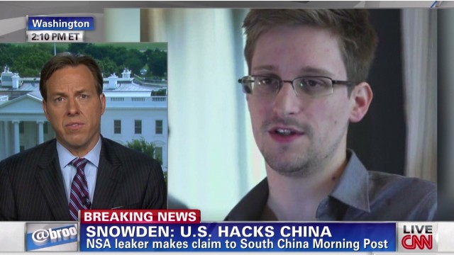 NSA leaker: U.S. hacks China