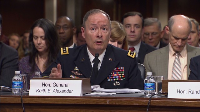 NSA director: 'Dozens' of plots thwarted