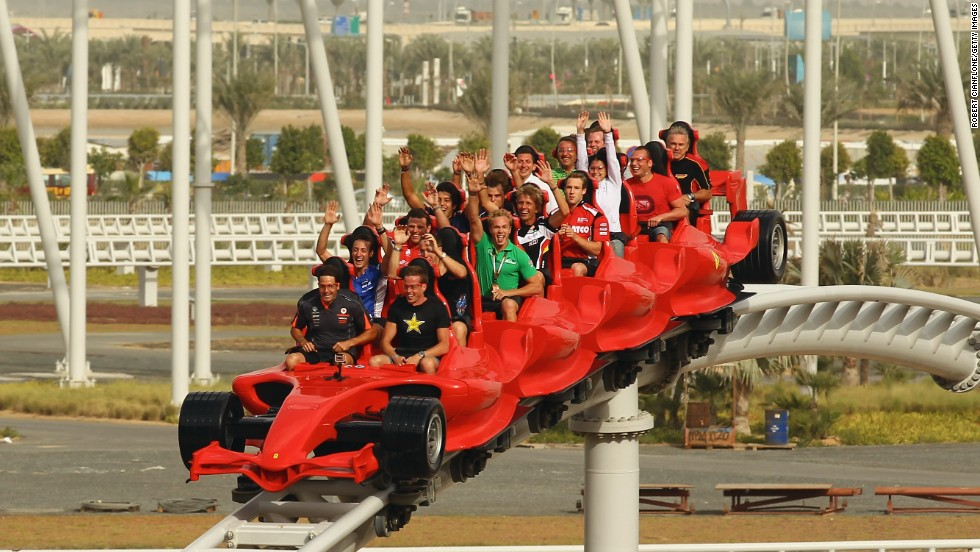 Not content to reside in Dubai's adventurous shadow, in 2010 Abu Dhabi opened  Ferrari World, the first Ferrari theme park and the largest indoor park in the world. Features include a children's speed-racing school and Formula Rossa, the fastest roller coaster in... (you guessed it) the world.