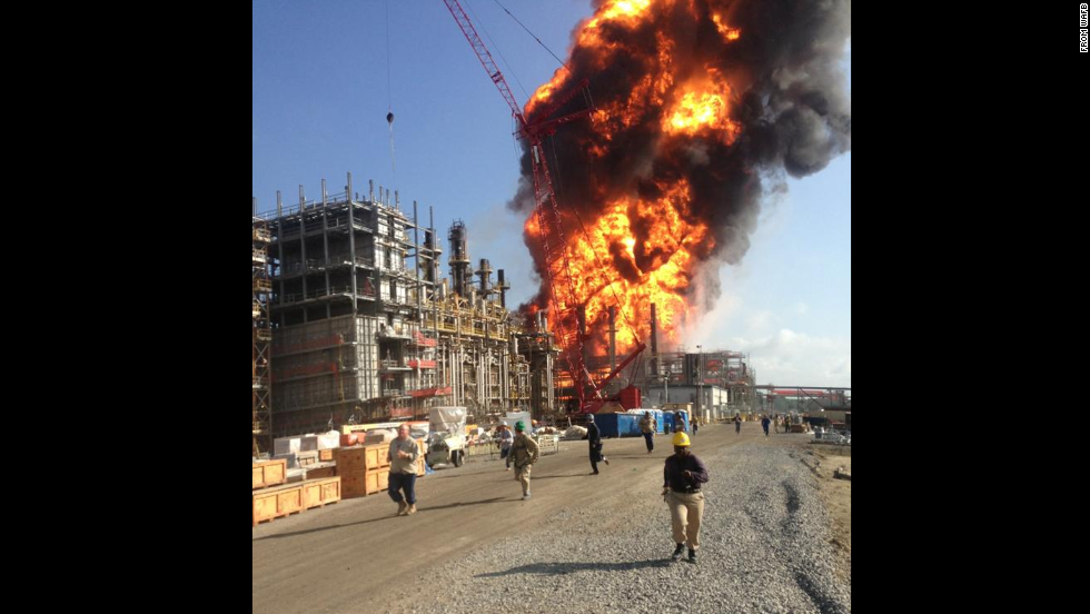 "<strong>Louisiana chemical plant explosion:</strong> A June 13 explosion at a <a href=""http://www.cnn.com/2013/06/13/us/louisiana-chemical-plant-explosion"" target=""_blank"">chemical plant in Louisiana killed one person</a> and forced authorities to ask people as far as 2 miles away to stay inside to avoid exposure to potentially deadly fumes. At least 75 people were injured in the blast."