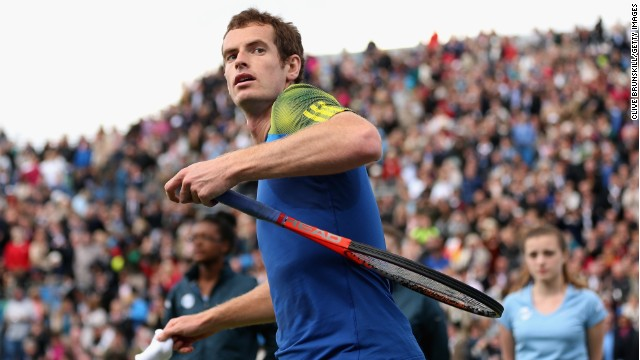 Andy Murray will play Germany's Benjamin Becker in Friday's quarterfinal tie.