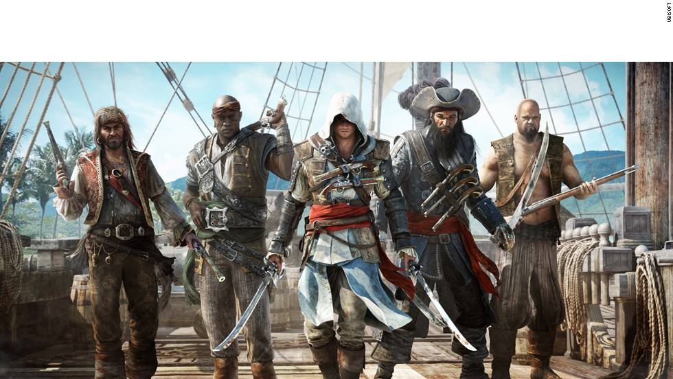It's a pirate's life in the fourth installment in this wildly popular franchise. Set in the 18th-century West Indies, the game invites players to set sail for adventure and interact with famous pirates like Blackbeard while contending with warring British and Spanish ships and other privateers.