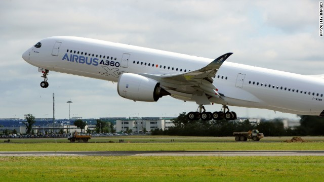 Airbus A350 XWB makes first flight