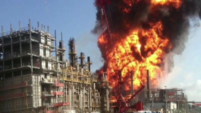 Louisiana plant explosion