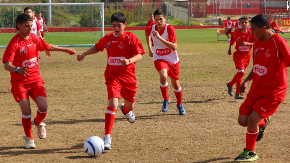 Mifalot is a non-government organization in Israel which brings together children from all sections of society and provides education and training through football.