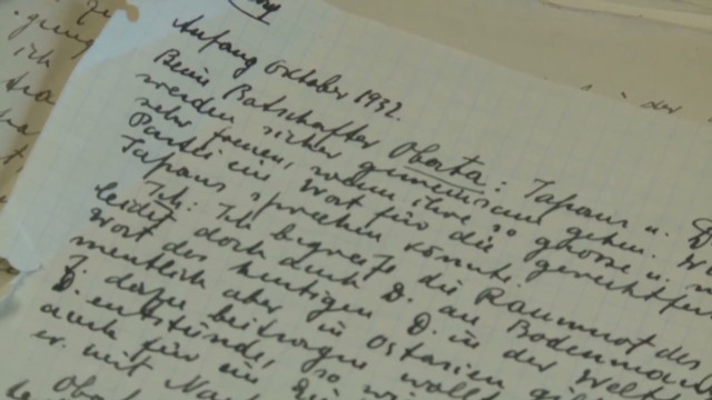 Nazi diary found after decades-long hunt