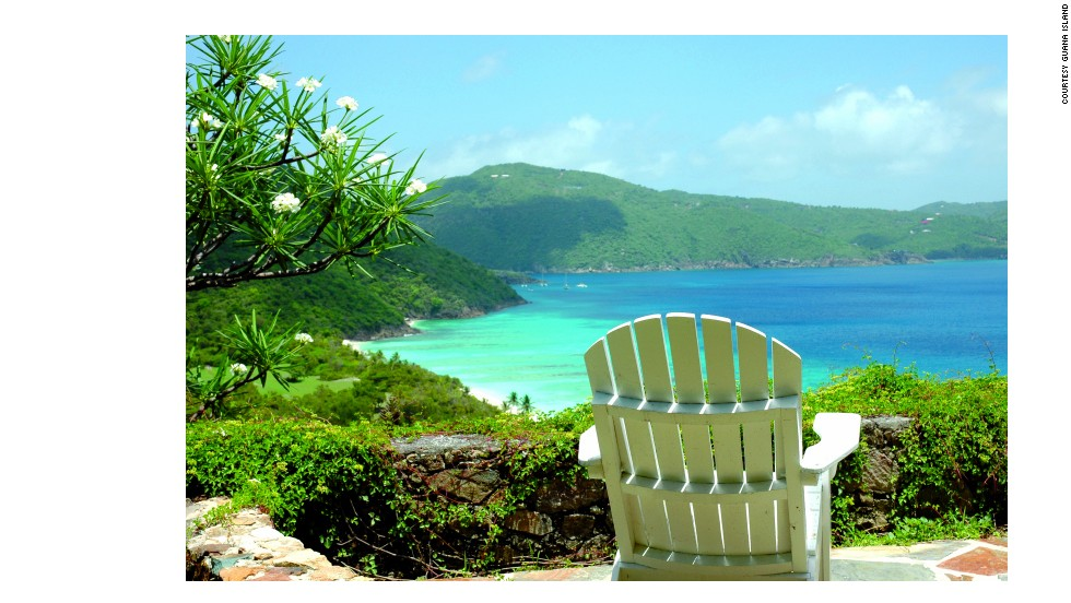 Guana has seven beaches, a tennis court, sailboats and pedal boats, more than a dozen trails and a spa among its amenities.
