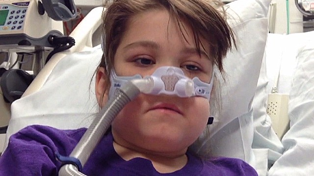 A young girl's journey for new lungs