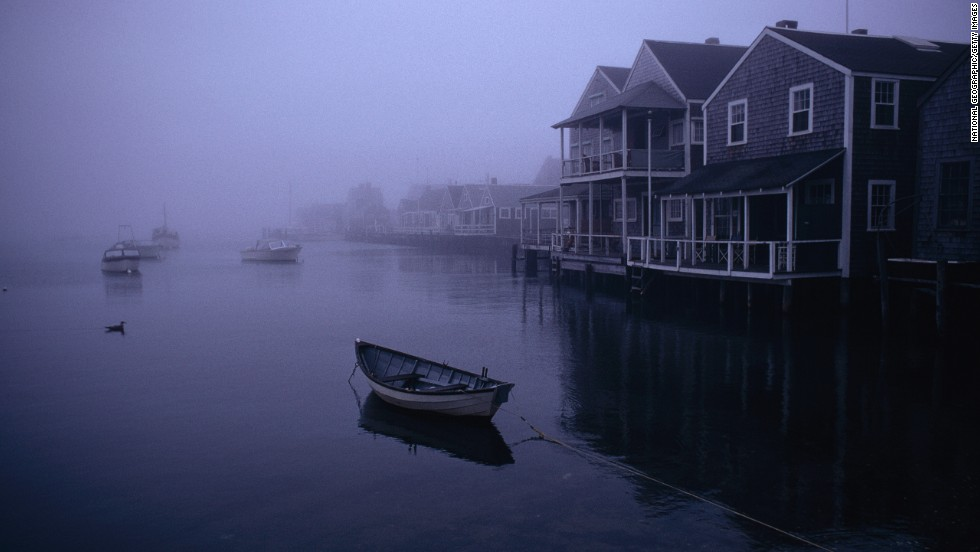 "Nantucket served as a backdrop for ""Moby-Dick."" Melville didn't visit the island until after the book was published in 1851."