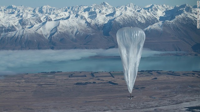 Google says it wants to build a ring of balloons to fly around the world on the stratospheric winds and bring Internet access to all