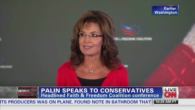 Is Sarah Palin preparing for 2016?