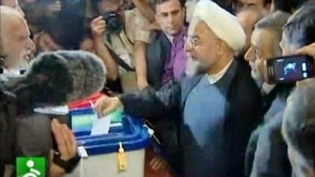 Iran pins hope for change on Rouhani
