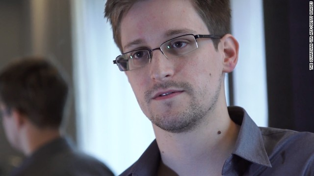 Edward Snowden on the move?