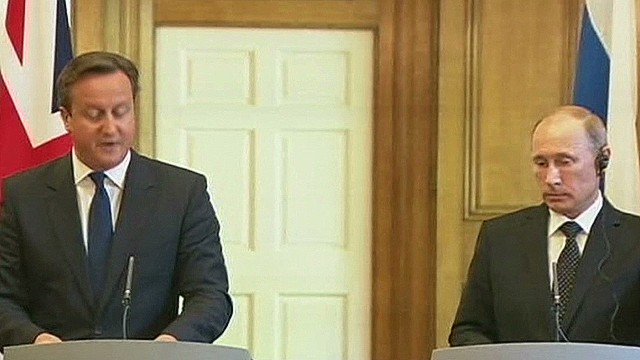 UK, Russia differ over Syria