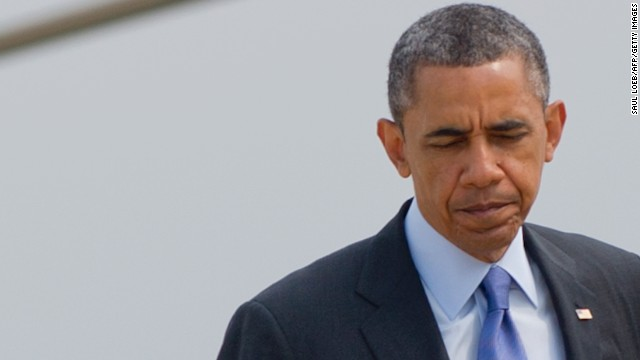 President Barack Obama's approval rating dropped 8 percentage points over the last month and for the first time in his presidency more than half of the public doesn't feel that the president is honest and trustworthy, a new CNN/ORC International poll shows.