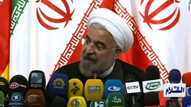 Iran's Rouhani says he is ready to talk