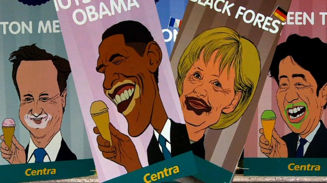 G8 leaders inspire new ice cream flavors