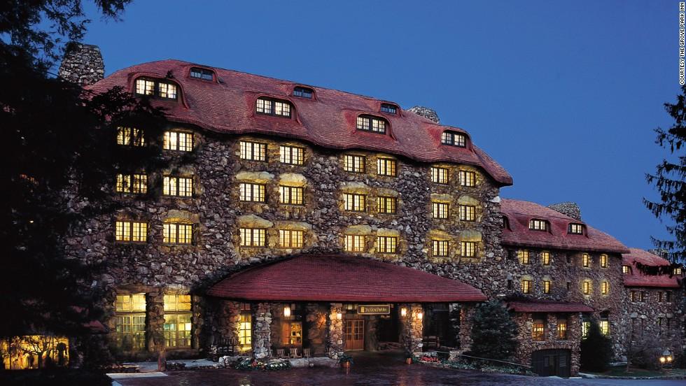 The Grove Park Inn in Asheville, North Carolina, turns 100 on July 12.