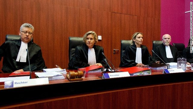 Judges at a court in Lelystad in the Netherlands found a 50-year-old man and six teenagers guilty of the manslaughter of an amateur football official.