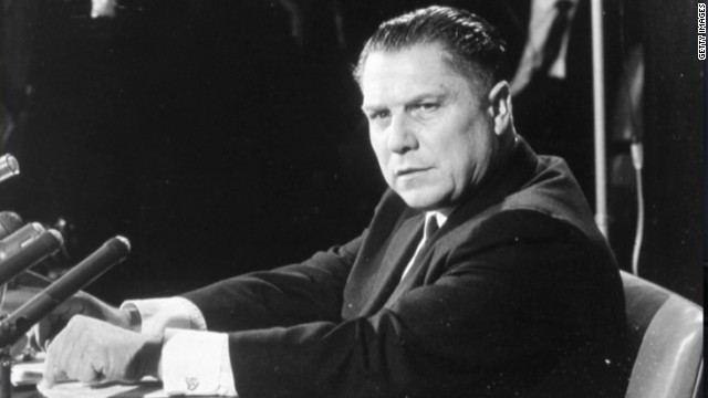 FBI digs for Jimmy Hoffa's remains