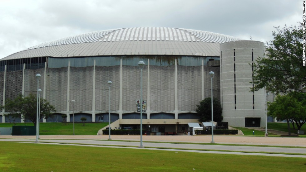 "The Houston Astrodome is the world's first domed, indoor, air-conditioned stadium. It was once called the ""Eighth Wonder of the World."""