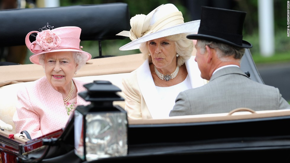 Tradition rules at Royal Ascot, with Queen Elizabeth (pictured here with Camilla Duchess of Cornwall and Prince Charles) opening the event in a horse-drawn carriage. Her Majesty is also a keen thoroughbred owner, boasting 20 winning horses in the history of the festival.
