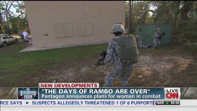 DoD unveils plan for women in combat