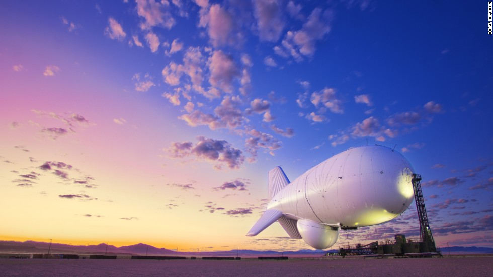 Other airships in development include Raytheon's JLENS aerostat, designed to carry out surveillance missions, hovering high in the air 24 hours a day, seven days a week for 30 days at a time.