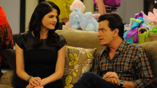 "Selma Blair co-starred with Charlie Sheen on FX's ""Anger Management."""