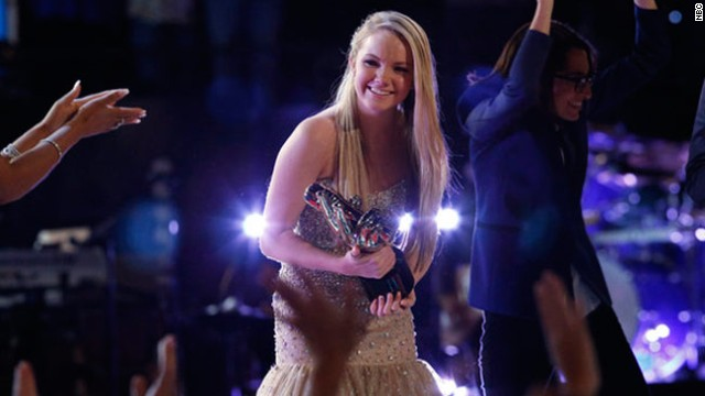 "Danielle Bradbery won the fourth season of NBC's ""The Voice"" on June 18."