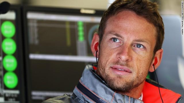 British driver Jenson Button won the 2009 Formula One drivers' title with Brawn GP.