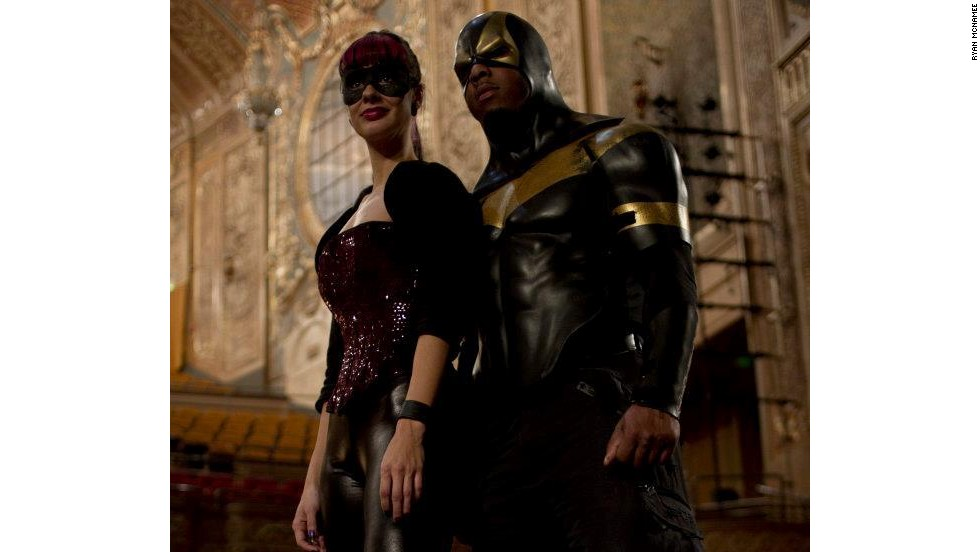 In spite of their super-suits, Purple Reign and Phoenix Jones insist that you don't need a costume to be a hero. They say their primary goal is to get people to engage with their communities, and not be bystanders when they see injustice.