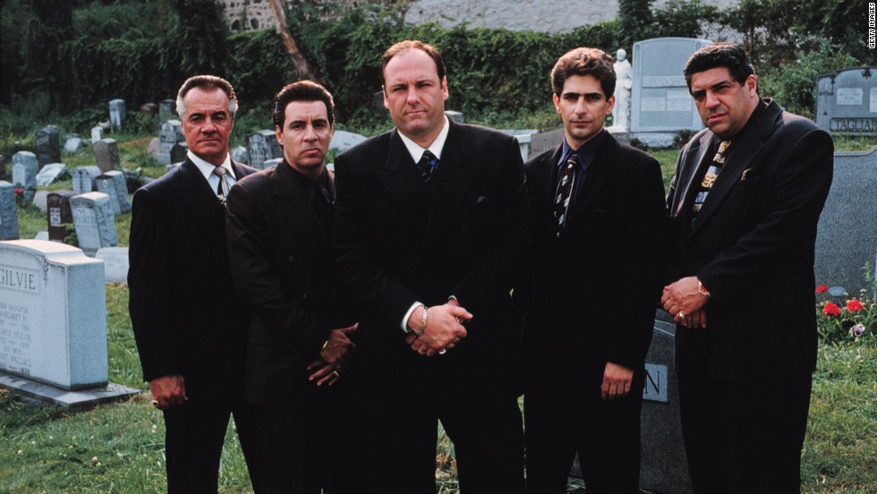 "We are fascinated with mobsters and those affected by them, both in real life and on screen. ""There's the reality of organized crime that nobody is in love with, and there's the mythologized version that everyone is in love with,"" said Ron Kuby, a lawyer who defended the late John Gotti. The cast of HBO's ""The Sopranos,"" from left, Tony Sirico, Steve Van Zandt, James Gandolfini, Michael Imperioli and Vincent Pastore. <a href=""http://www.cnn.com/2013/06/19/showbiz/gallery/james-gandolfini"" target=""_blank"">Gandolfini</a> died on June 19 from a heart attack at age 51."