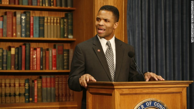 Image #: 6655532    Rep. Jesse Jackson Jr., responds to the Illinois Gov. Rod Blagojevich allegations, speaking on Capitol Hill on December 10, 2008.   The Washington Times /Landov
