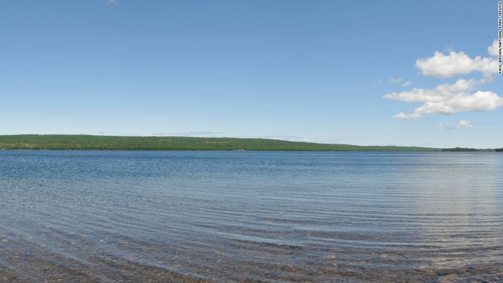 Isle Royale has hundreds of inland lakes, ponds and bogs, but Siskiwit Lake is the largest body of water on the island.