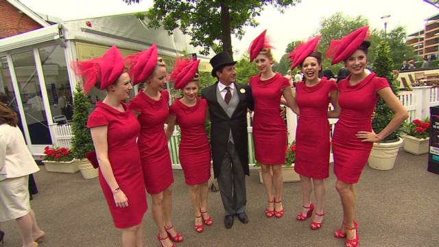 Fashion and glamor at Royal Ascot