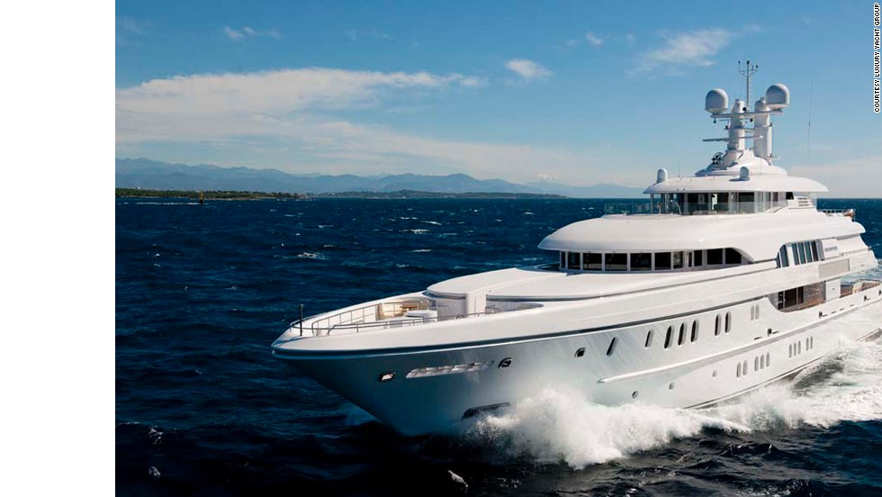 Musician P. Diddy knows how to holiday in style, chartering opulent superyacht Solemates. The high-tech vessel features an iPad controller, aromatherapy shower and an award-winning on board chef.