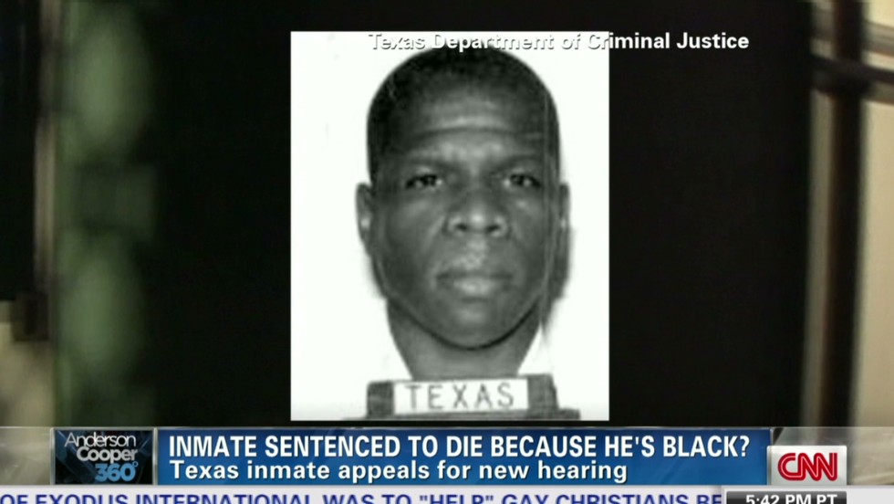 Inmate on death row because he's black?