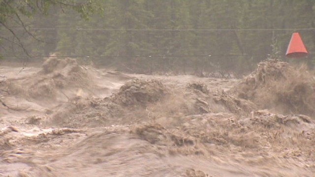 Flooding washes out Canadian community