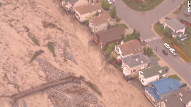 Flooding devastates Canada