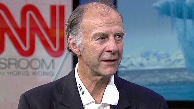 Ranulph Fiennes' Antarctica expedition