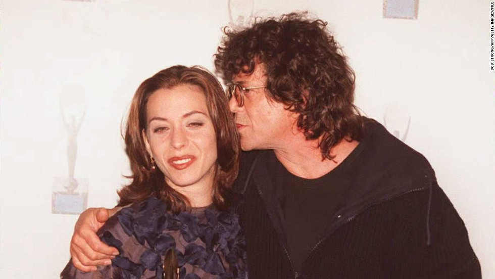 Frank Zappa's brood all have funky names, such as Dweezil, Ahmet Emuukha Rodan and Diva Thin Muffin Pigeen. But for us, Moon Unit, seen here with Lou Reed in 1995, will always take the cake.