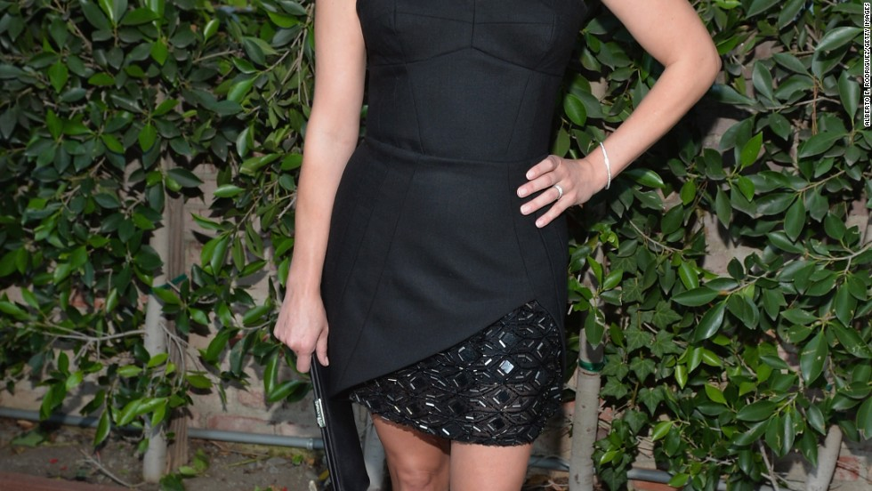 Reese Witherspoon stops for a photo op at Benjamin Millepied's L.A. Dance Project gala on June 20.