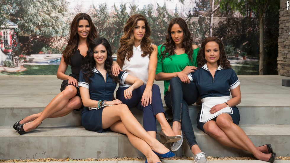 "<strong>June 2013: </strong>TThe debut of ""Devious Maids"" made history as the first primetime program featuring an all-Latina leading cast: Roselyn Sanchez, Edy Ganem, Ana Ortiz, Dania Ramirez and Judy Reyes. Creator and executive producer Marc Cherry of ""Desperate Housewives'' was joined by fellow ""Housewives"" alum Eva Longoria. <br /><br />""We have, as Latina maids, been portrayed on television and movies, but none of them have been humanized,"" Ramirez said. ""None of them are real life stories, choosing to take this role is more interesting to me because I get to tell a story of struggle.""<br /><br />""Devious Maids"" was picked up by Lifetime TV for a second season in 2014.<br />"