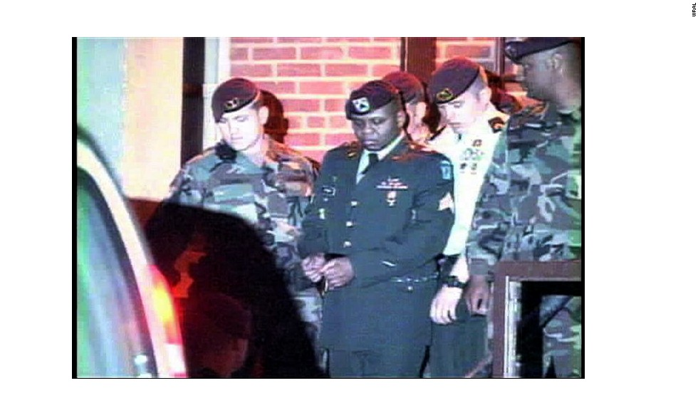 Former Army Sgt. Hasan Akbar was handed a death sentence for killing two soldiers and wounding 14 others at Camp Pennsylvania, Kuwait, during the U.S.-led invasion of Iraq. On March 23, 2003, Akbar threw four hand grenades into tents where soldiers were sleeping and then opened fire on other soldiers.