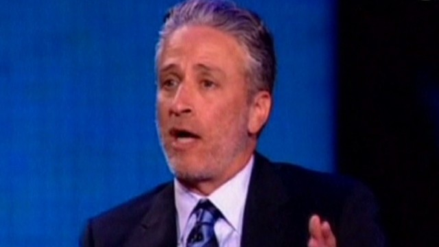 Jon Stewart brings comedy to Egypt