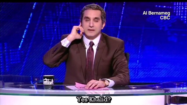 Bassem Youssef  the politician?